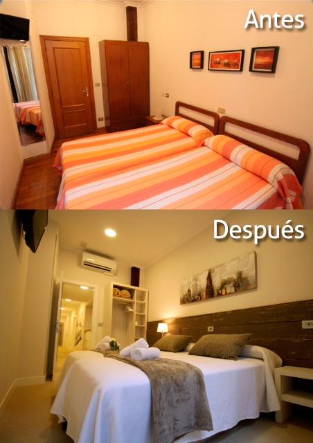 Reforma de habitación – dormitorio