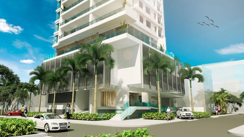 Edificio de apartamentos de lujo